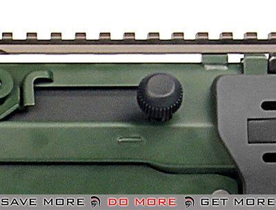 G&G GK5-C DGL Full Metal Airsoft AEG Rifle - Black & Green G&G Standard- ModernAirsoft.com