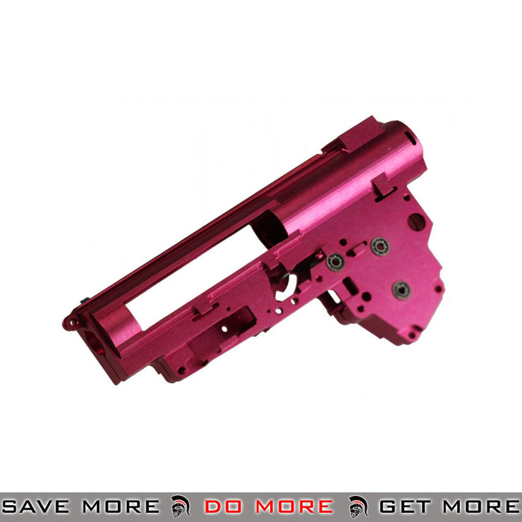 Super Shooter CNC Aluminum 8mm Gearbox Shell [BX0002] - Version 3 Gearbox Shell- ModernAirsoft.com