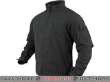 Condor Tactical Phantom Soft Shell Jacket (Black / Small) Jackets / Sweaters / Hoodies- ModernAirsoft.com