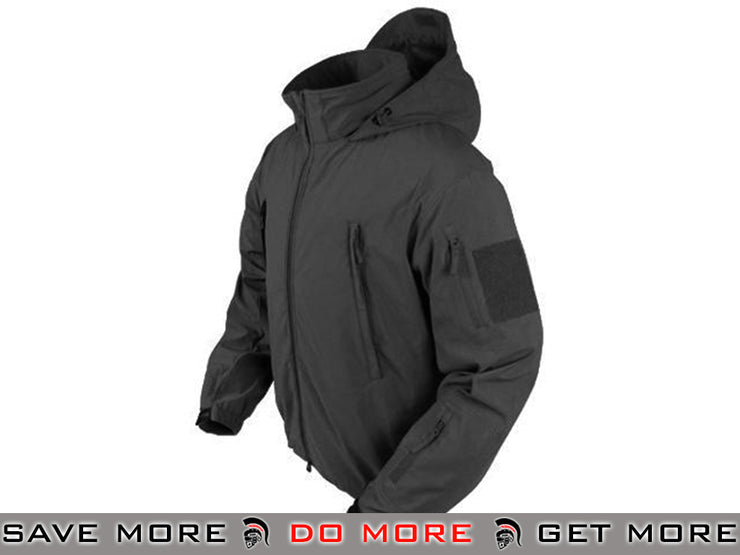Condor Summit Zero Lightweight Soft Shell Jacket (Black / Large) Jackets / Sweaters / Hoodies- ModernAirsoft.com