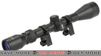 AIM Sports 3-9x40 Duplex Scope w/ Steel Ring Mount Set Scopes- ModernAirsoft.com