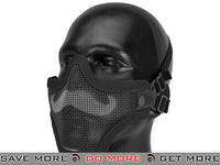 "6mmProShop Iron Face ""Moustache"" Carbon Steel Mesh Lower Half Mask (Black) Face Masks- ModernAirsoft.com"