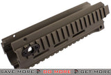 CNC Aluminum Dark Earth CQB RIS Kit for A&K Masada Airsoft AEG Rifles Conversion Kits- ModernAirsoft.com