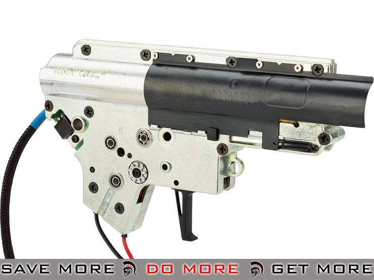 KRYTAC Complete 8mm Nautilus Version 2 Gearbox for Krytac Series Airsoft AEG Rifles Gearbox- ModernAirsoft.com