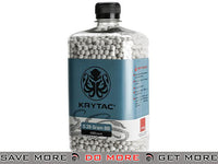 Krytac 0.28g Polished 6mm Airsoft BBs - 4000 / White 0.27g & Heavier BBs- ModernAirsoft.com