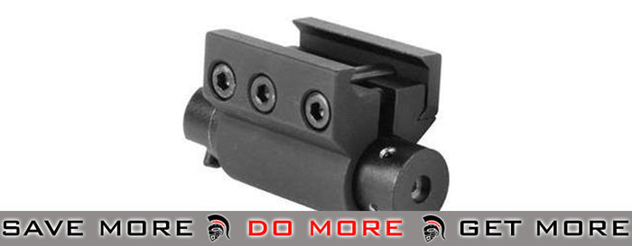 AIM High-Precision Laser System for Pistol and Rifle Rail Mount