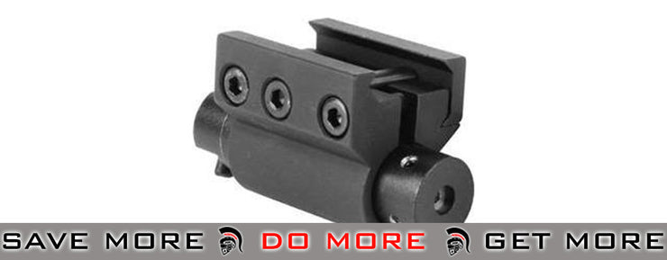 AIM High-Precision Laser System for Pistol and Rifle Rail Mount Lasers- ModernAirsoft.com