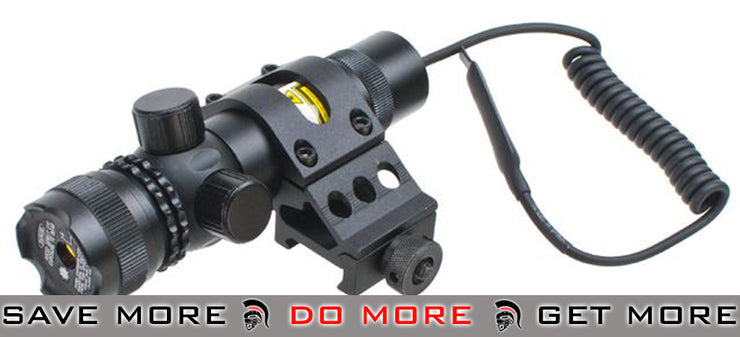 AIM Tactical Externally Adjustable Green Laser with Offset Mount Lasers- ModernAirsoft.com