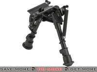 "CYMA M030 4"" Harris Style Retractable Bipod w/ Swivel Lock Bipods- ModernAirsoft.com"