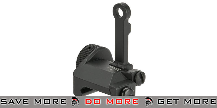 CYMA  M16-A4 Style Flip-Up M4 / M16 / AR15 Rear Sight iron sights- ModernAirsoft.com