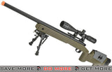 PDI Custom S&T USMC M40A3 Bolt Action Airsoft Sniper Rifle w/ PDI Internals (Model: OD Green) Airsoft- ModernAirsoft.com