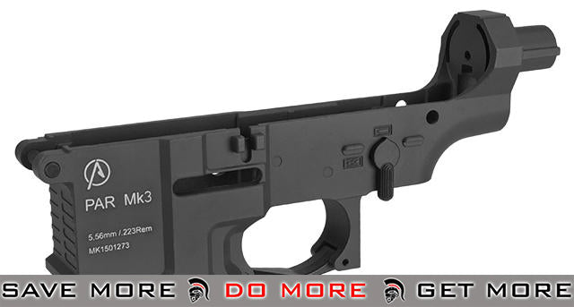 ICS Pro-Arms Armory MK3 Full Metal Aluminum Lower Receiver for Airsoft AEG Rifles - Black Metal Bodies / Receivers- ModernAirsoft.com