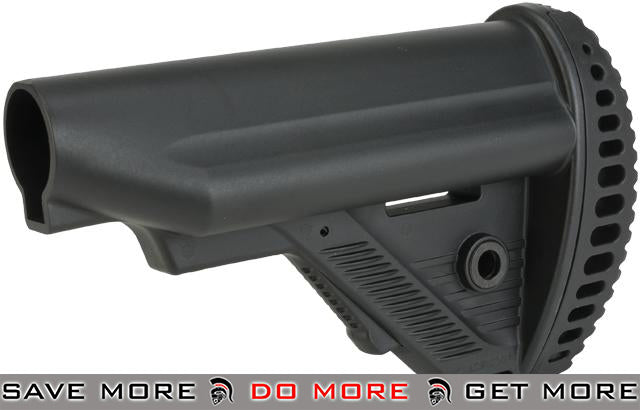 ICS MTR S1 Tactical Retractable Stock for M4/M16 Series Airsoft AEGs - Black Stocks- ModernAirsoft.com