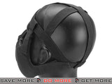 6mmProShop V5 Padded Dual Layered Nylon Half Face Mask w/ Bump Helmet Straps (Black) Face Masks- ModernAirsoft.com