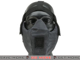 6mmProShop V5 Breathable Padded Dual Layered Nylon Half Face Mask w/ Bump Helmet Straps (Urban Serpent) Face Masks- ModernAirsoft.com
