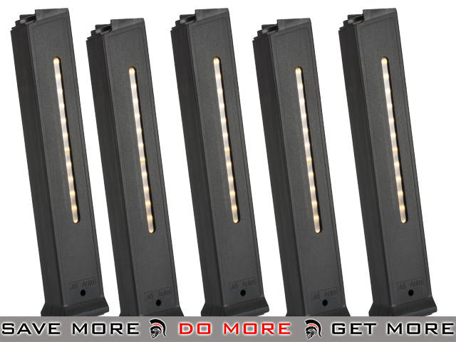 Umarex 110rd Magazine for H&K UMP Series Airsoft AEG Rifle - Set of 5 Electric Gun Magazine- ModernAirsoft.com