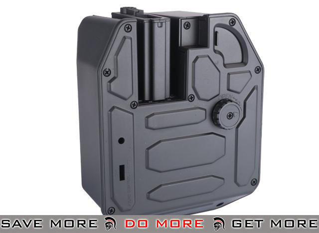 Matrix 5000rd Super High Capacity Electric Auto Winding Box Mag for M4 M16 Series Airsoft AEG Electric Gun Magazine- ModernAirsoft.com