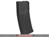 Blue Box Black 140rd Polymer Midcap Magazine for M4 / M16 Series Airsoft AEG Rifles - Set of 10 - Modern Airsoft