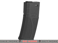 Blue Box 140rd Polymer Midcap Magazine for M4 / M16 Series Airsoft AEG Rifles - Black / One Airsoft- ModernAirsoft.com