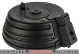 Cyma 3000rd Steel Electric Auto-Winding / Sound Controlled Drum Magazine for AK Series Airsoft AEG Electric Gun Magazine- ModernAirsoft.com