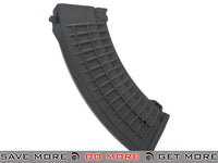 Matrix 150rd Waffle Type Mid-Cap Magazine for AK Series Airsoft AEG Rifles - Black Electric Gun Magazine- ModernAirsoft.com