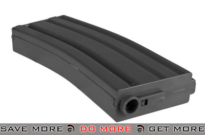 Black / One Elite Force 140rd Midcap Magazine for M4 / M16 Series Airsoft AEG Rifles Electric Gun Magazine- ModernAirsoft.com