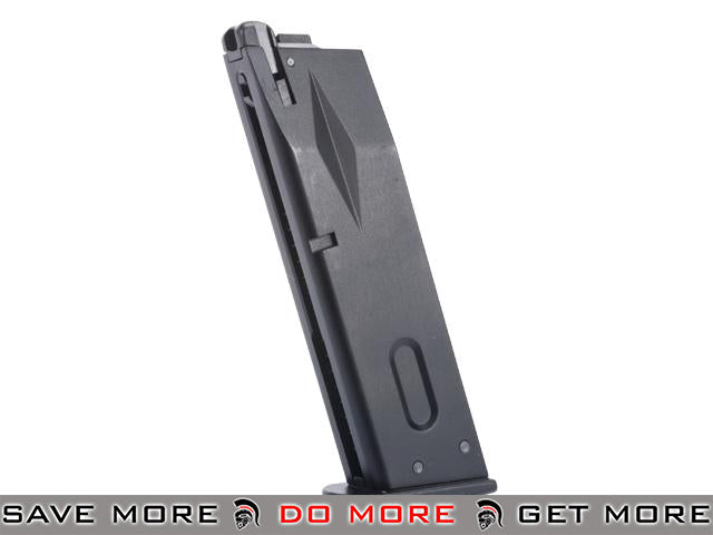 Magazine for WE Marui M9 Series Airsoft GBB Gas Blowback Pistols by WE - Black Gas Gun Magazine- ModernAirsoft.com