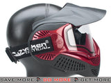 Black / Red Annex MI-9 Full Face Mask by Valken - Modern Airsoft
