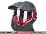 Black / Red Annex MI-9 Full Face Mask by Valken Head - Masks (Full)- ModernAirsoft.com