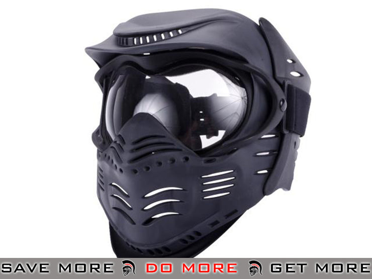 Lancer Tactical Full Face Child Size Airsoft Mask Head - Masks (Full)- ModernAirsoft.com