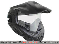 Black Annex MI-7 ANSI Rated Full Face Mask with Thermal Lens by Valken Head - Masks (Full)- ModernAirsoft.com