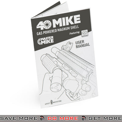 Airsoft Innovations MASTER MIKE 40mm Grenade Launcher Shell - AI-MM-100