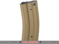 Full Metal  Dark Earth 300 round Hi-Cap Magazine For M4 M16 L85 SCAR Series Airsoft AEG Electric Gun Magazine- ModernAirsoft.com