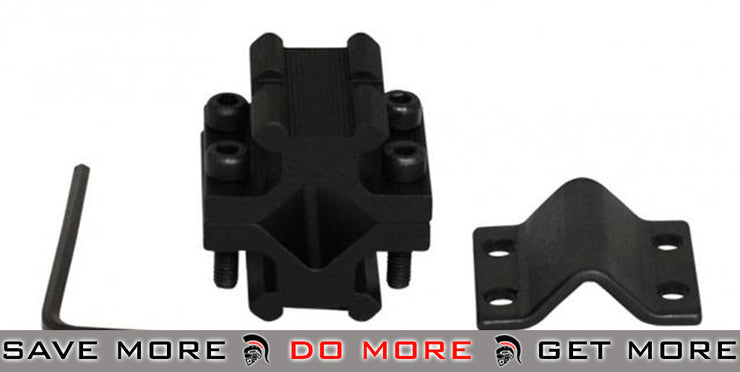AIM Sports Dual Rail Real Steel Universal Rifle Barrel Mount Outer Barrels- ModernAirsoft.com