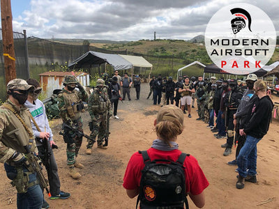 Modern Airsoft Park One Day Admission