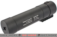 B&T MP9 QD Barrel Extension for MP9 Airsoft GBB Rifles Mock Silencer- ModernAirsoft.com