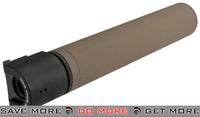 B&T Rotex-IIIA Mock Silencer for M4 Series Airsoft Rifles - Tan Mock Silencer- ModernAirsoft.com