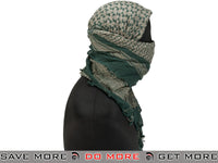 Matrix Woven Coalition Desert Shemagh - Tan / OD Green Head - Wraps / Balaclavas- ModernAirsoft.com