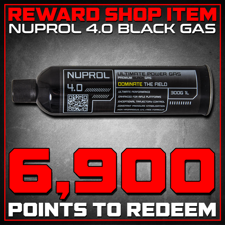 Reward Shop Item - Nuprol 4.0 High Performance Premium Black Gas - 1 Can, 10.5oz