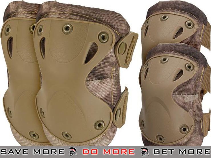 6mmProShop Knee & Elbow Pad Set (Arid) Knee / Elbow Pads- ModernAirsoft.com