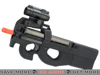 Cybergun FN Herstal Fully Licensed Gas Blowback P90 PDW  - Black Gas Blowback Rifle- ModernAirsoft.com