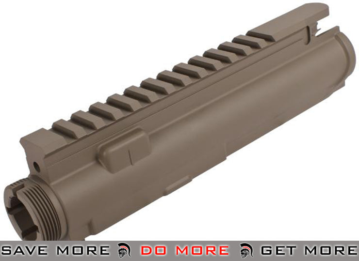 G&G Metal Upper Receiver For G&G Blowback M4 Series Airsoft AEG Rifles - Tan Metal Bodies / Receivers- ModernAirsoft.com