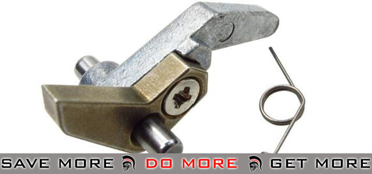 Anti-Reversal Latch and Spring for ICS M3 Airsoft AEG Anti-Reversal Latches- ModernAirsoft.com