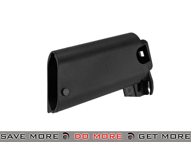 Stock Base for WE SCAR Series Airsoft GBB Rifle - Black WE-Tech Parts- ModernAirsoft.com
