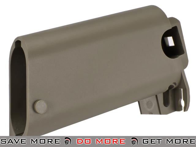 Stock Base for WE SCAR Series Airsoft GBB Rifle - Tan WE-Tech Parts- ModernAirsoft.com