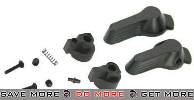 ICS Parts MI-11 Steel Fire Selector Set for ICS SIG552 / SIG551 Series Airsoft AEG Selector Switch- ModernAirsoft.com