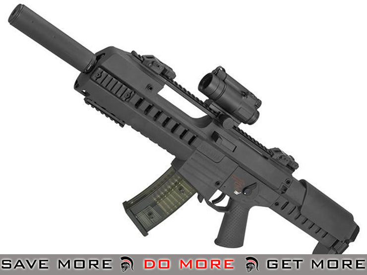 GSG Tactical G14 Carbine Electric Blowback AEG by SoftAir (Color: Black) SoftAir- ModernAirsoft.com