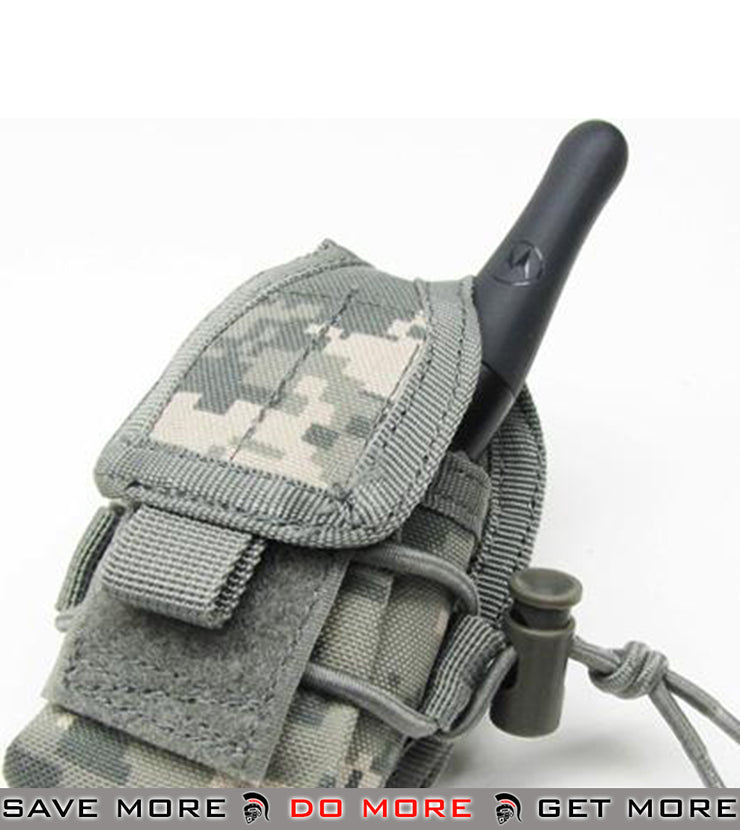 Phantom Multi-Purpose Handheld FRS Radio Pouch (ACU) Others / Pouch Accessories- ModernAirsoft.com