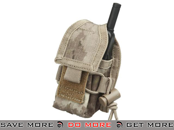 Phantom Multi-Purpose Handheld FRS Radio Pouch (A-TACS) A-TACS Pouches- ModernAirsoft.com