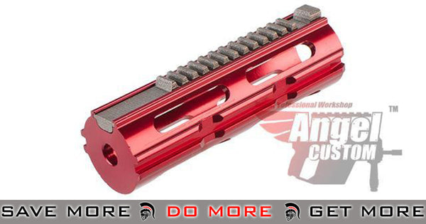 "Angel Custom  CNC Aluminum Piston w/ CNC Steel Teeth for Airsoft AEG Rifles - ""THOR II"""